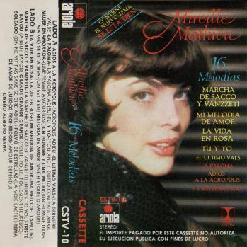 16 melodias cassette audio 1984