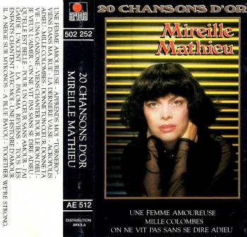 20 chansons d or cassette audio 1984