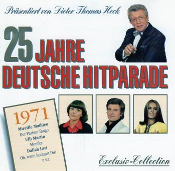 25 jahre deutsche hitparade 1971