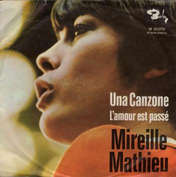 45 tours allemagne una canzone 1968