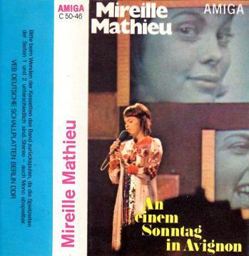 An einem sonntag in avignon cassette allemagne de l est 1971