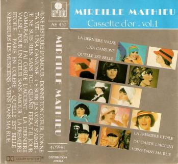 Cassette d or volume 1 1984