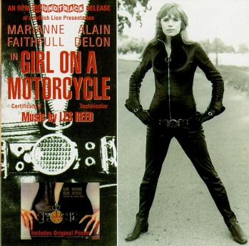 Cd girl on a motorcycle 1996