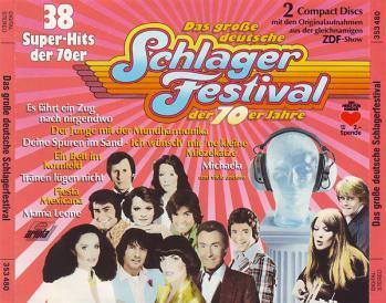 Das gro e deutsche schlager festival der 70er jahre cd