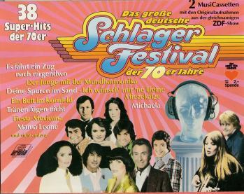Das grosse deutsche schlager festival der 70er jahre cassette audio
