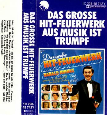 Das grosse hit feuerwerke aus musik ist trumpf cassette audio 1979