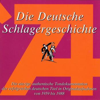 Die deutsche schlagergeschichte 74 1997