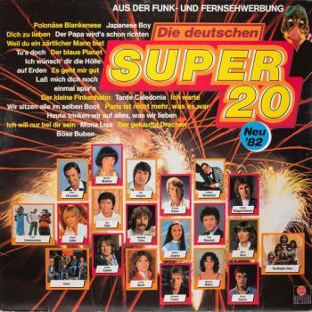 Die deutschen super 20 neu 82 1982