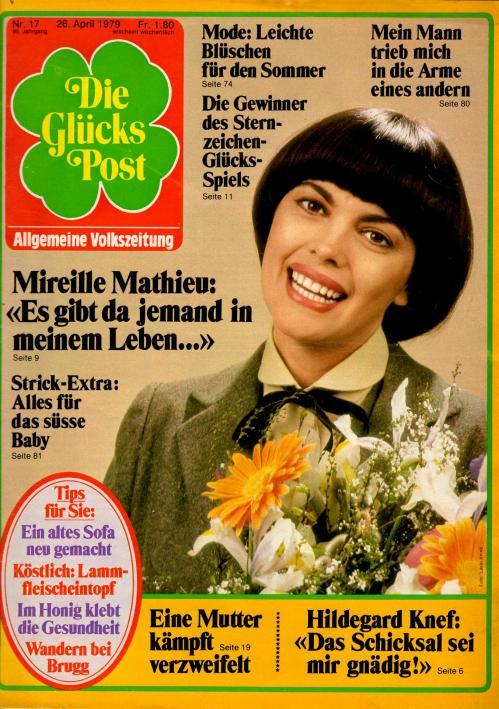 Die glucks post n 17 avril 1979