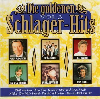 Die goldenen schlager hits vol 3 1995