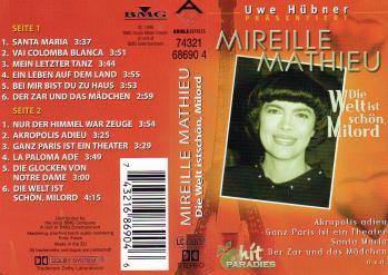 Die welt ist schon milord 1999 cassette audio