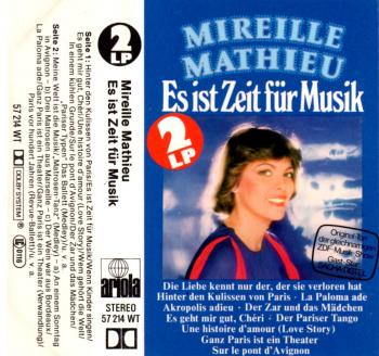 Es ist zeit fur musik cassette audio