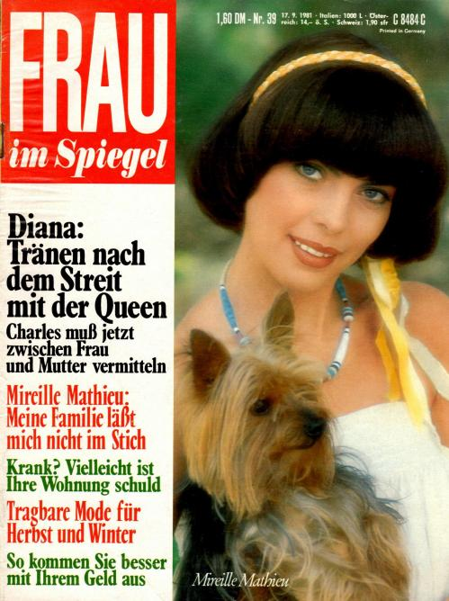 Frau im spiegel n 39 17 septembre 1981
