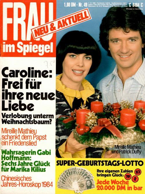 Frau im spiegel n 49 1 decembre 1983