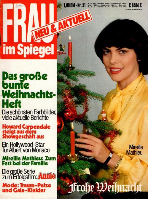 Frau im spiegel n 51 decembre 1982