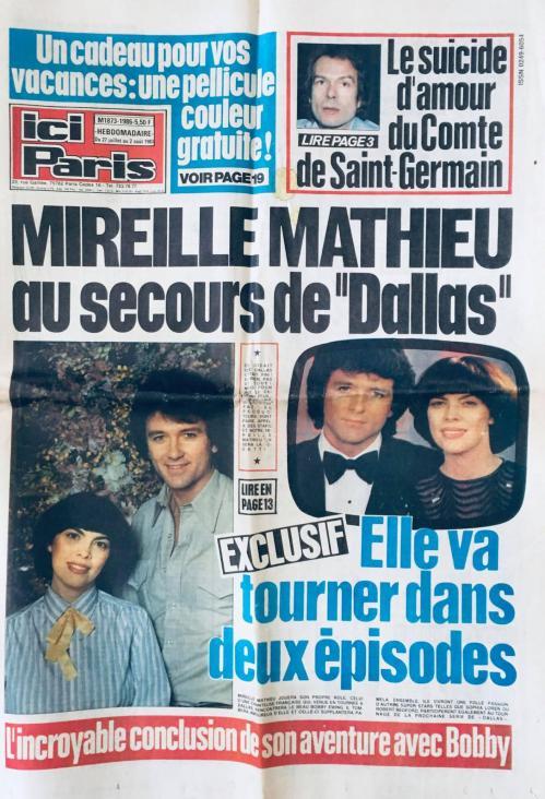 Ici paris n 1986