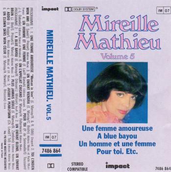 Impact volume 5 cassette audio 1981