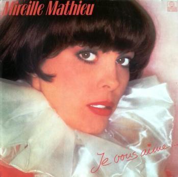 Je vous aime ariola 1982