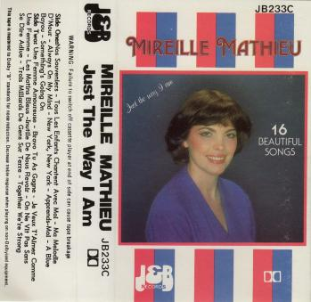 Just the way i am cassette audio australie 1983