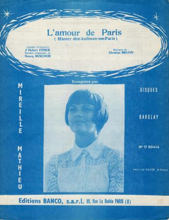 L amour de paris 1969