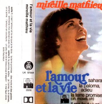 L amour et la vie cassette audio 1988 yougoslavie