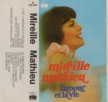 L amour et la vie cassette audio espagne 1974
