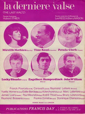 La derniere valse v2 1967