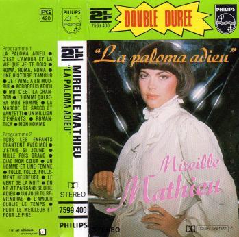 La paloma adieu compilation cassette audio