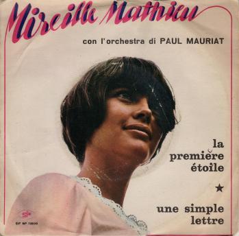 La premiere etoile 45 tours italie 1969