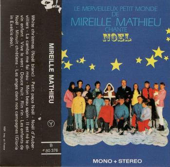 Le merveilleux petit monde de mireille mathieu chante noel cassette audio 1968