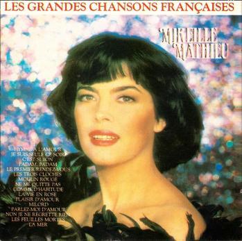 Les grandes chansons francaises cd bresil 1989