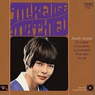 Mireille mathieu 1966 barclay allemagne