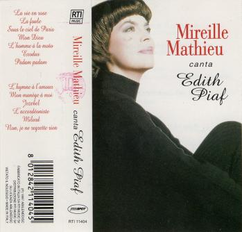 Mireille mathieu canta edith piaf cassette audio