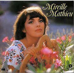 Mireille mathieu compilation allemagne 1976
