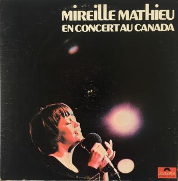 Mireille mathieu en concert au canada 1971