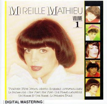 Mireille mathieu volume 1 cd arcade 1984