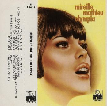 Olympia 1969 cassette audio espagne 1974