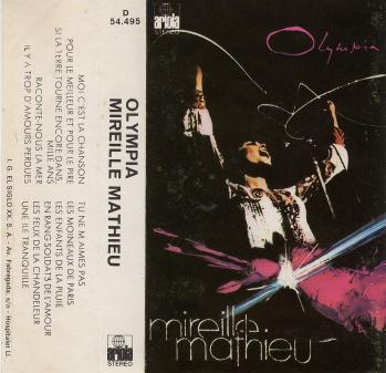Olympia cassette audio espagne 1974