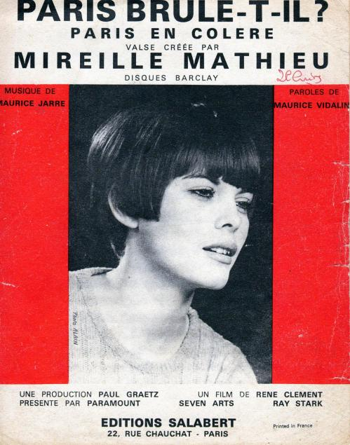 Paris en colere 1966
