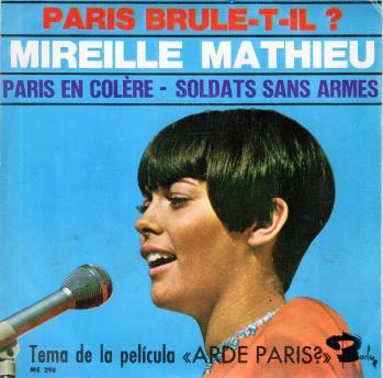 Paris en colere espagne 1966