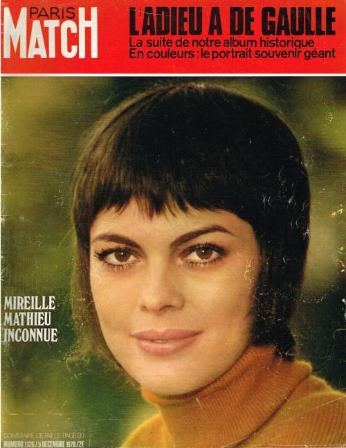 Paris match n 1126 5 decembre 1970