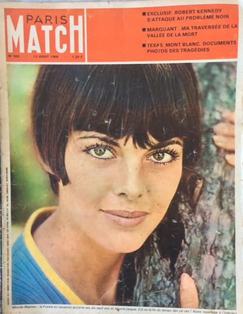 Paris match n 905 13 aout 1966