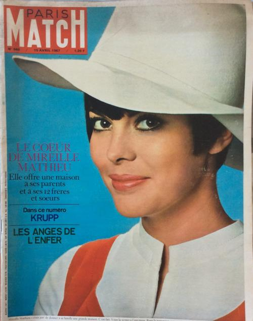 Paris match n 940 15 avril 1967