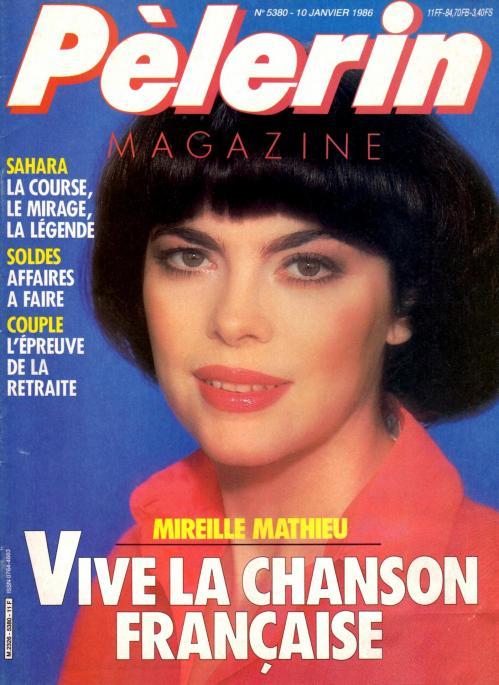 Pelerin magazine n 5380 10 janvier 1986