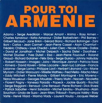 Pour toi armenie