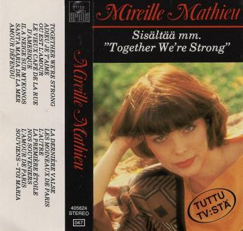 Sisaltaa mm together we re strong cassette audio 1983