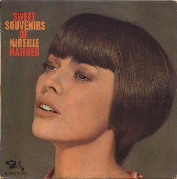 Sweet souvenirs of mireille mathieu france 1968