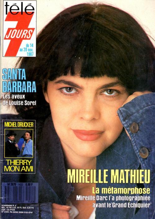 Tele 7 jours n 1433 14 novembre 1987
