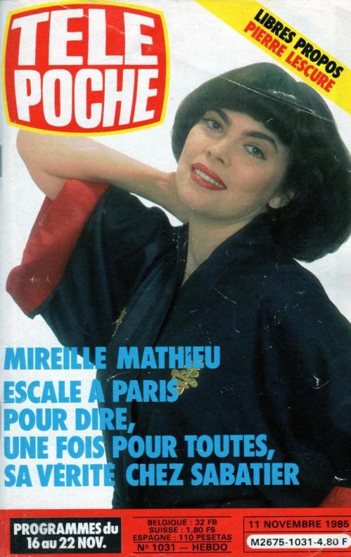 Tele poche n 1031 11 novembre 1985