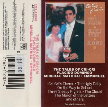 The tales of cri cri cassette audio 1985